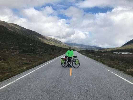 Achteinhalb Wochen brauchten sie für die 4000 km durch Schweden und Norwegen