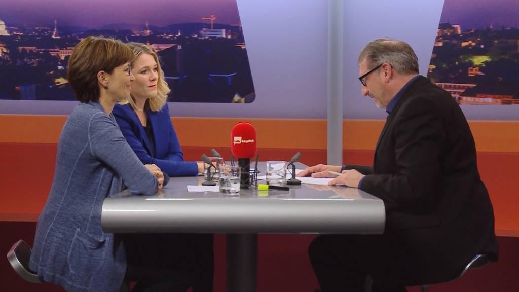 """""""Wahl-Talk"""" mit Regula Rytz und Kathrin Bertschy"""