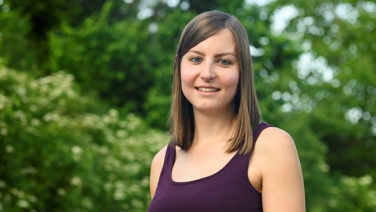 Elena Flach, 27, aus Endingen, kandidiert für den Nationalrat.
