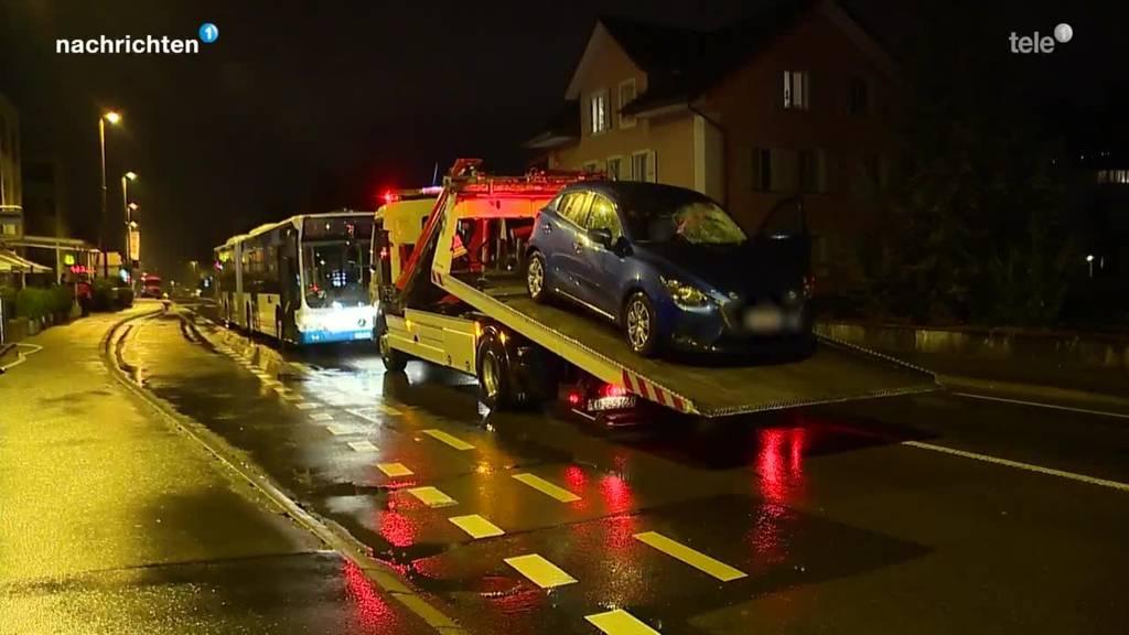 Toedlicher Verkehrsunfall Luzern Littau