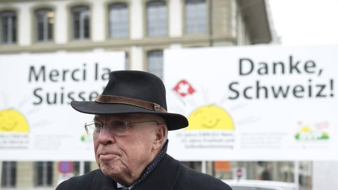 Ein besonderer Rentner: Christoph Blocher, 80 Jahre alt.