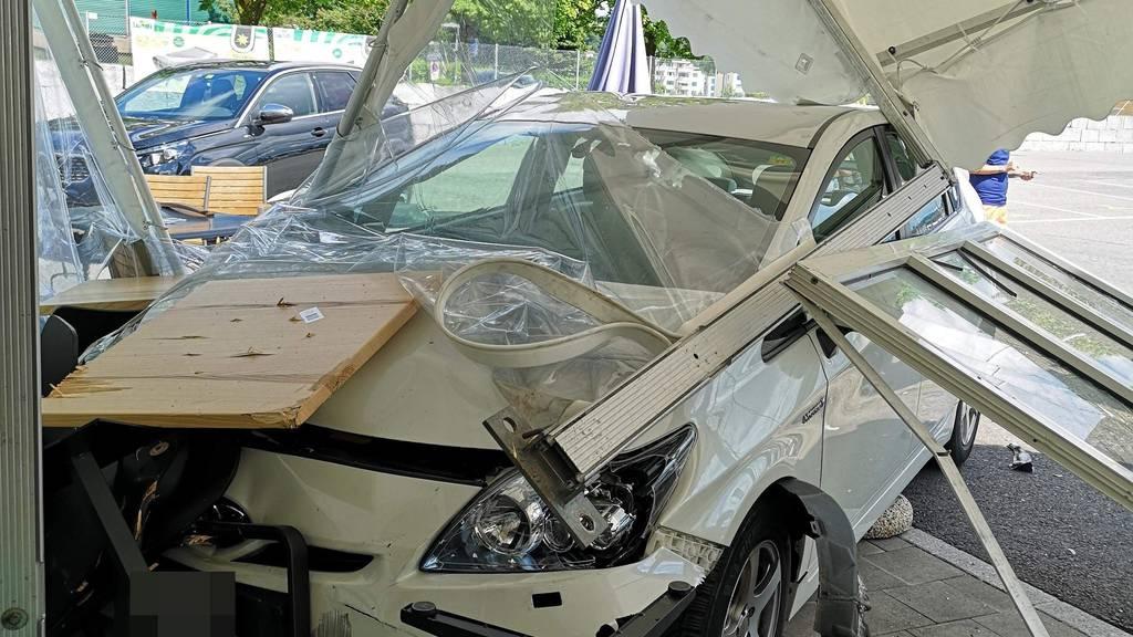 Es «chlöpfte» auf den Strassen im Bezirk Zofingen - drei Unfälle am Sonntag