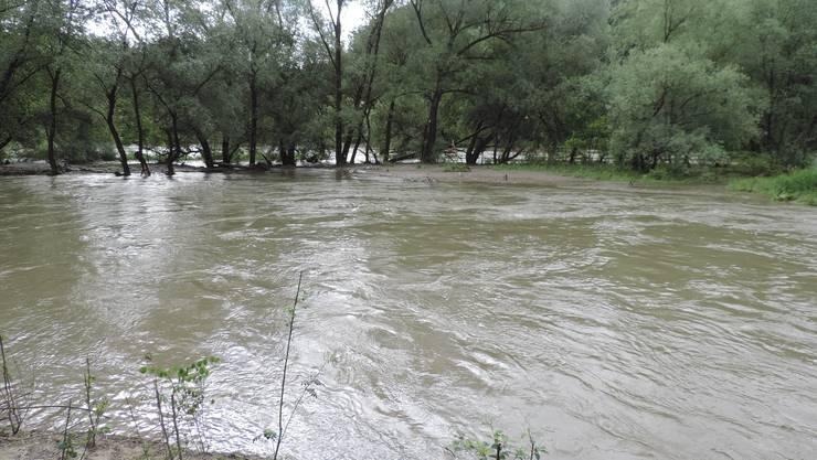 15,5 Millionen für den Hochwasserschutz in Niederdorf. (Symbolbild)