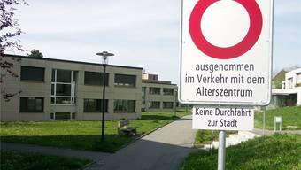 Bald doch keine freie Fahrt für den Pflegeheim-Neubau des Alterszentrums Obere Mühle in Lenzburg? Archiv/me