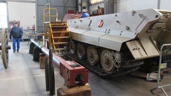 Wehrmacht-Panzer im Militärmuseum Full