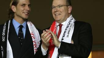 Das Königshaus von Monaco freut sich über Platz 3 der AS Monaco in der Ligue 1