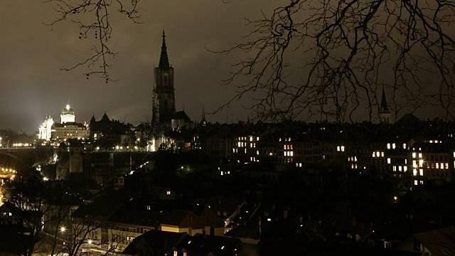 Berner Münster unbeleuchtet