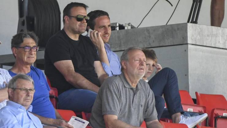 Patrick Rahmen und Sportchef Sandro Buerki