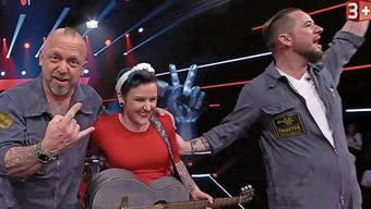 Martina, genannt Mary, hat die Büetzer Buebe in den Blind Auditions begeistert.