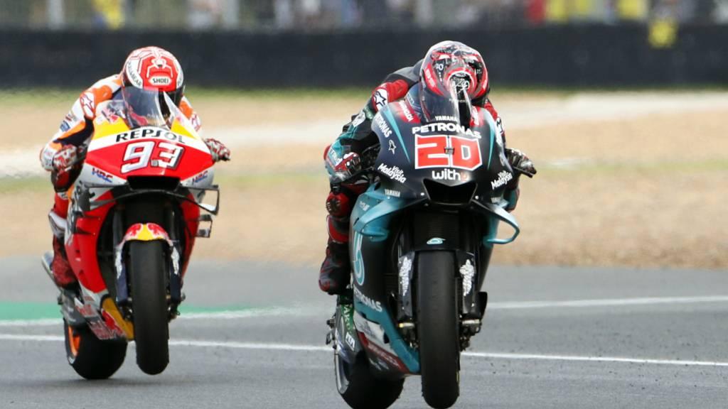 Französischer Doppelsieg in der MotoGP
