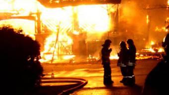 Der Aufwand für Feuerschäden verringerte sich im vergangenen Jahr von 12,1 Mio. auf 6,8 Mio. Franken.