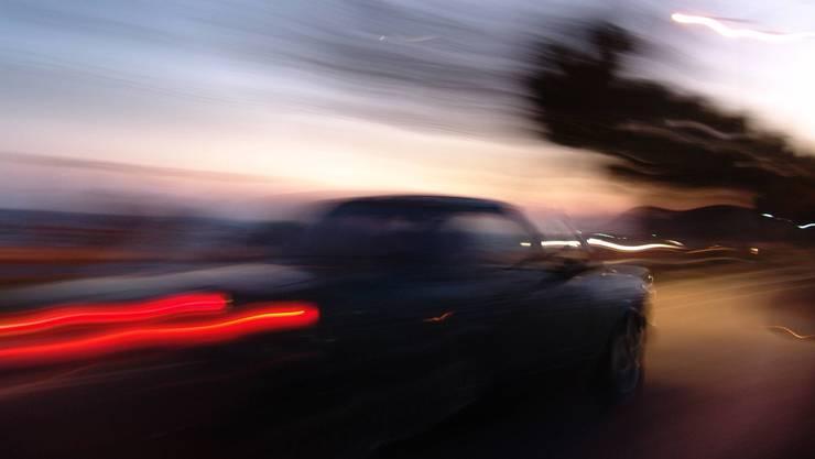 Das Fahrer raste mit 113 Kilometer pro Stunde durch Oensingen