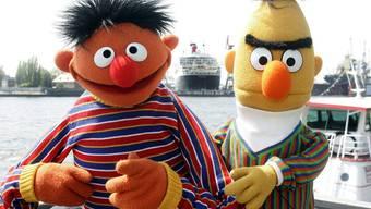 Ernie und Bert von der Sesamstrasse