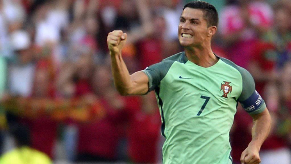 Cristiano Ronaldo will für Portugal den Unterschied machen