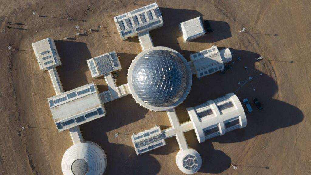 Die Mars-Simulationsbasis C-Space in der Wüste Gobi öffnet für Besucher.