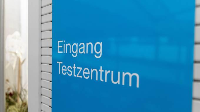 Das Testzentrum im Kantonsspital Aarau.