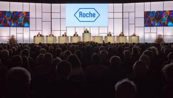 Einblick in die Roche-GV von 2014.