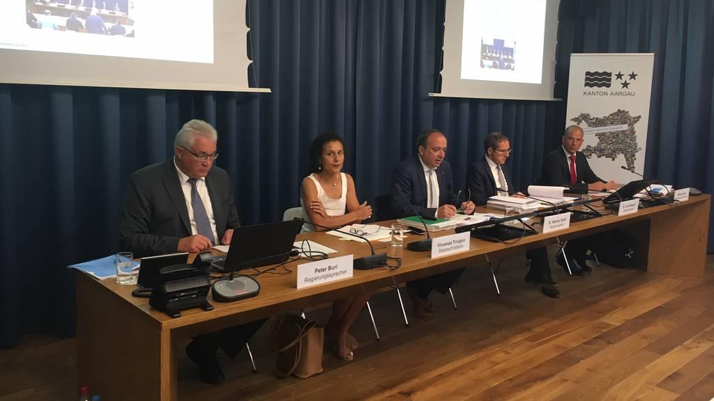 Ausgeglichenes Budget für den Kanton AG 2018