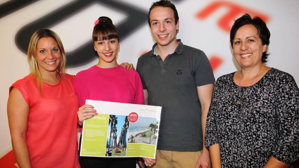 Michelle aus Kriens gewinnt Sprachaufenthalt