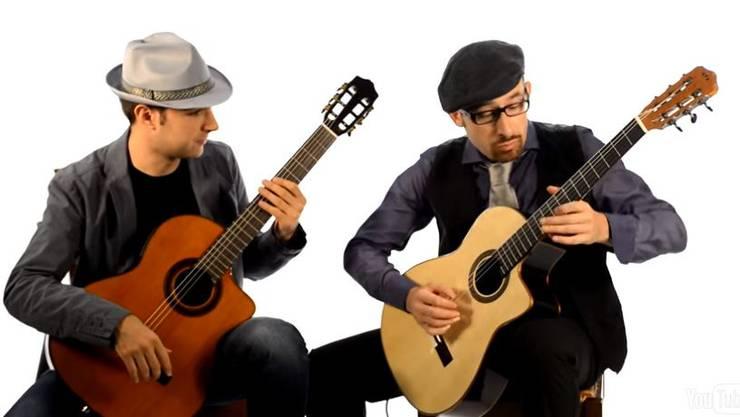 Am Donnerstag spielt das Musikduo in Brugg.