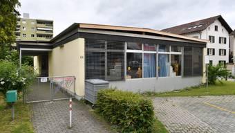 Anstelle des heutigen Pavillons soll ein zweistöckiges Gebäude entstehen.