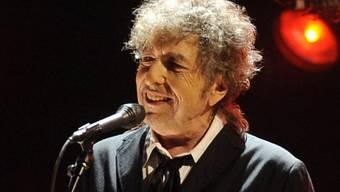 Bob Dylan 2012 bei einem Auftritt in Los Angeles (Archiv)
