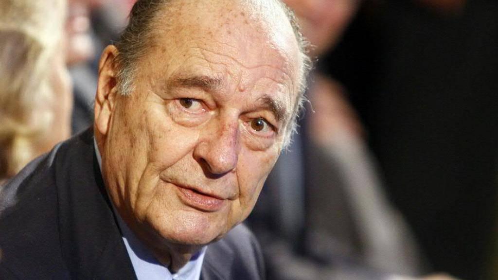 Frankreichs Ex-Präsident Jacques Chirac 86-jährig gestorben