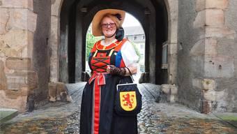 «Es ist noch immer eine grosse Ehre, mit unserer Tracht Laufenburg zu repräsentieren», sagt Silvia Blaser, Präsidentin der Trachtengruppe.