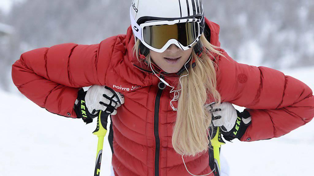 Skicrosserin Sanna Lüdi: Nur Training, keine Wettkämpfe