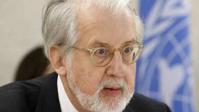 Paulo Pinheiro spricht vor dem Menschenrechtsrat