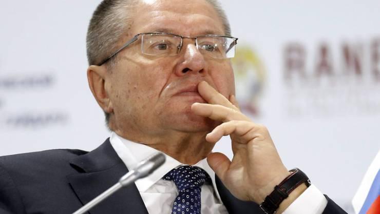 Zu Gast in Berlin: Der russische Wirtschaftsminister Alexej Uljukajew will ein Ende der EU-Sanktionen. (Archiv)