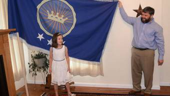 Jeremiah Heaton und ihre Tochter, Prinzessin Emily