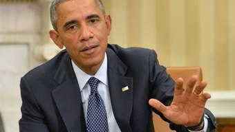 Obama nach Gesprächen über den Kampf gegen Ebola (Archiv)