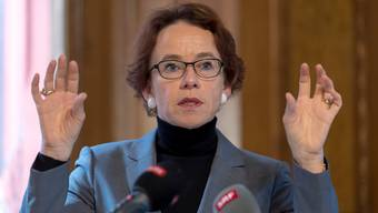 Eva Herzog präsentiert zum Abschluss ihrer Regierungskarriere ein Budget mit deutlich geringerem Überschuss.