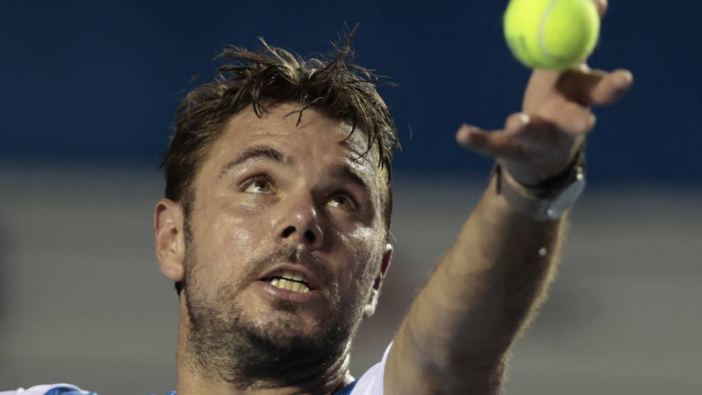 In St. Petersburg im Viertelfinal: Stan Wawrinka.