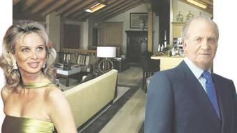 Corinna zu Sayn-Wittgenstein galt über Jahre als Mätresse des 2014 zurückgetretenen Königs Juan Carlos. In der Wohnung in Villars-sur-Ollon sollen sie sich öfters getroffen haben.