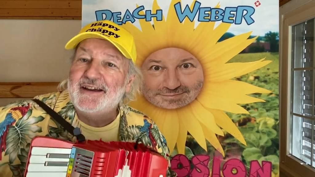 «Impfen statt Schimpfen»: Peach Weber singt den Impfsong