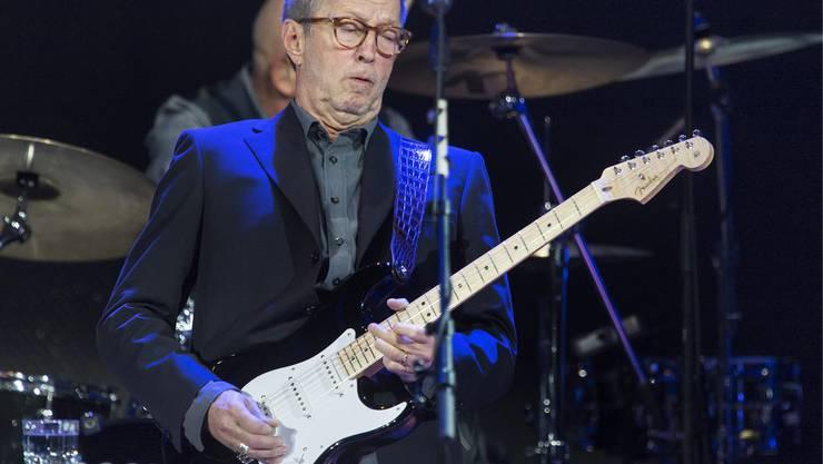 Eric «Slowhand» Clapton zeigte sein Können an der Baloise Session.