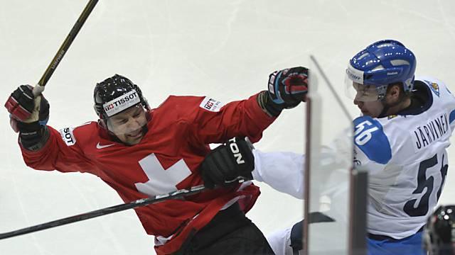 Benjamin Plüss sorgte für das einzige Schweizer Tor in Norwegen.