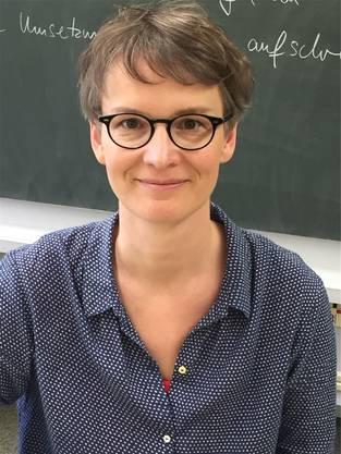 Monika Stiller, Deutschlehrerin.