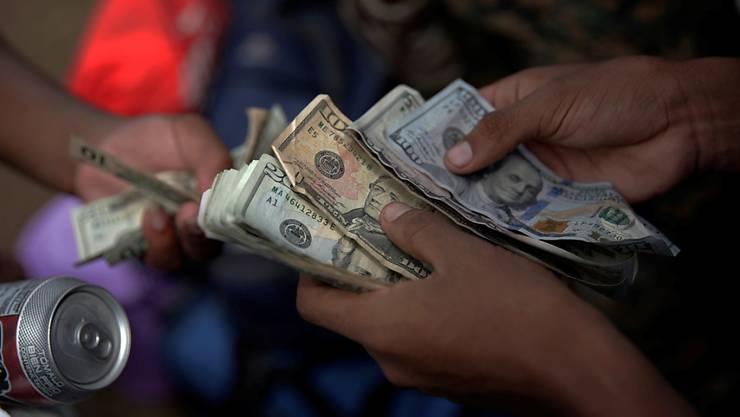 Die Schlepper verlangten von den Migranten für eine Reise in die USA Pro-Kopf-Geld von bis zu 20'000 US-Dollar. (Symbolbild)