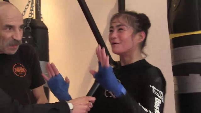 Box-Weltmeisterin Aniya Seki