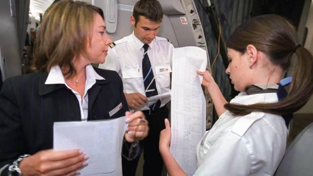 Flight Attendants der Airline Swiss (Archiv)