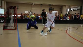 180 Spieler haben am Unihockey-Schülerturnier in der Primarschule Junkholz in Wohlen teilgenohmen
