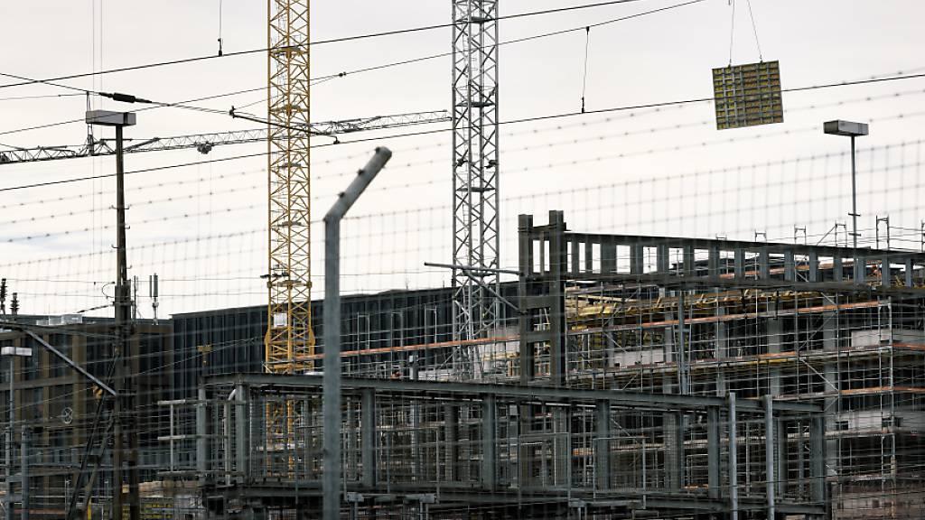 Schweizer Bauwirtschaft floriert weiter