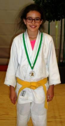 Maria Carraça aus Lausen mit der Bronzemedaille