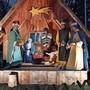 Das «Weihnachts-Hüsli» ist bereits fertig dekoriert.