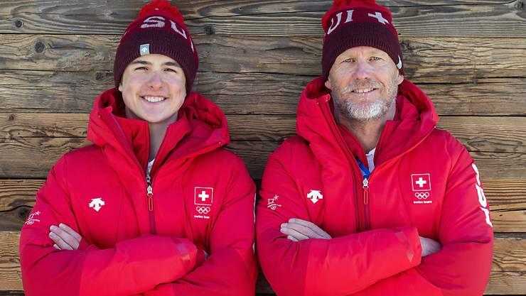 Ein äusserst erfolgreiches Duo: Noé und Vater Michel Roth