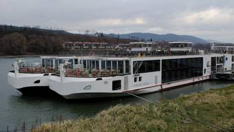Schiffe der Viking River Cruises AG in Basel