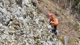 Die Steinschlagsicherung an der Scheltenstrasse wird verlegt